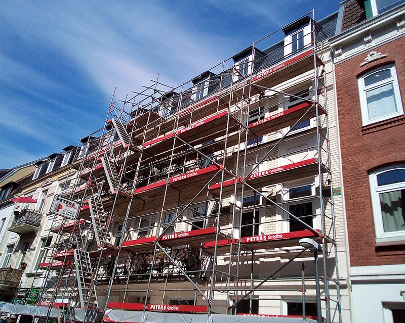 Fassadengerüst Hamburg 02