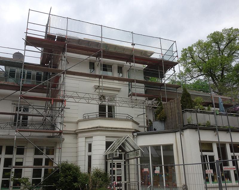 Fassadengerüst Hamburg 06